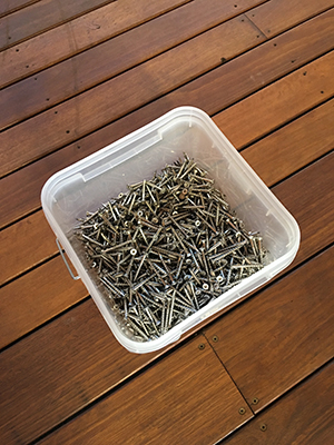 Timber Screws for Decking