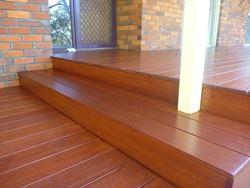 Timber Decking vs Paving